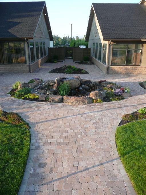 Rock Landscaping Underlayment : Hardscape special additions landscaping llc