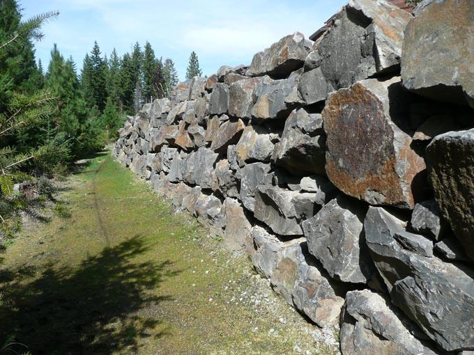 Landscape Boulders Spokane : Rock work special additions landscaping llc